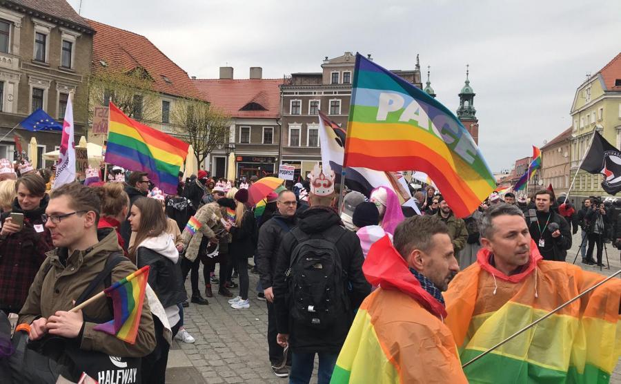 Marsz równości w Gnieźnie / Tęczowa Wiosna