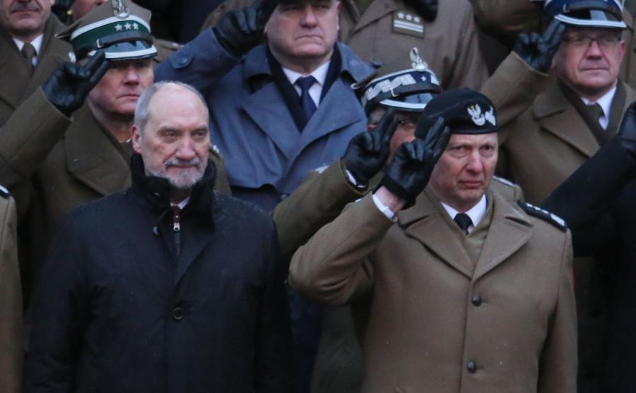 Antoni Macierewicz i gen. Mirosław Różański