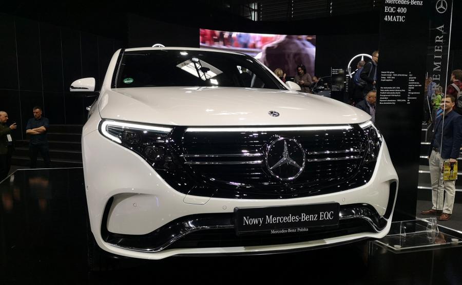 Mercedes EQC 400 4MATIC - pierwszy Mercedes wśród elektryków