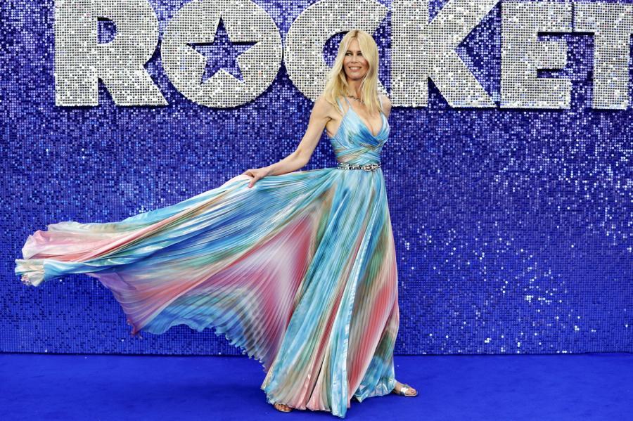 "Claudia Schiffer na premierze filmu ""Rocketman"""