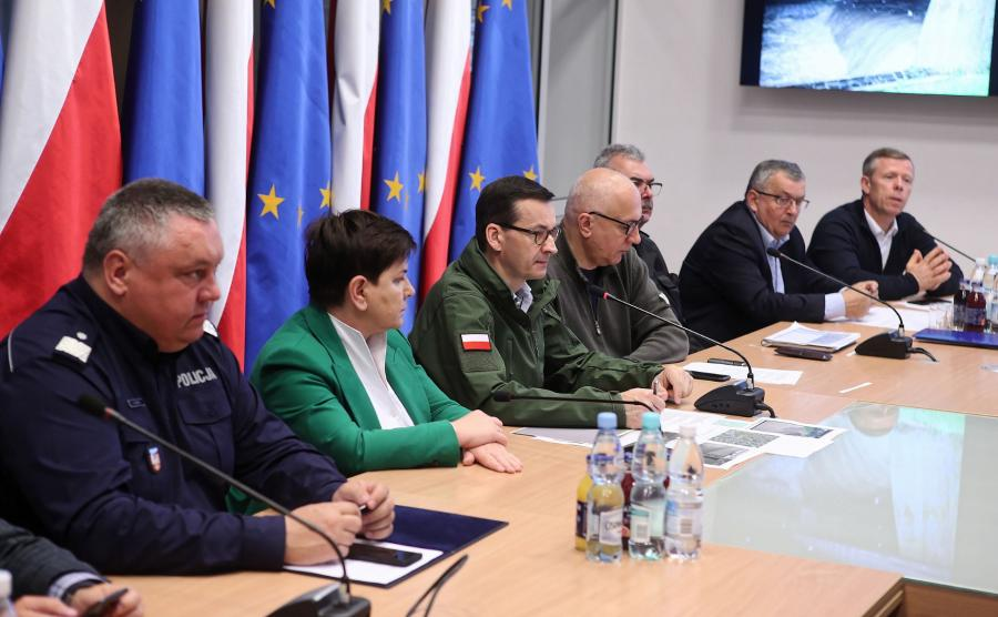 Zebranie sztabu kryzysowego w Krakowie