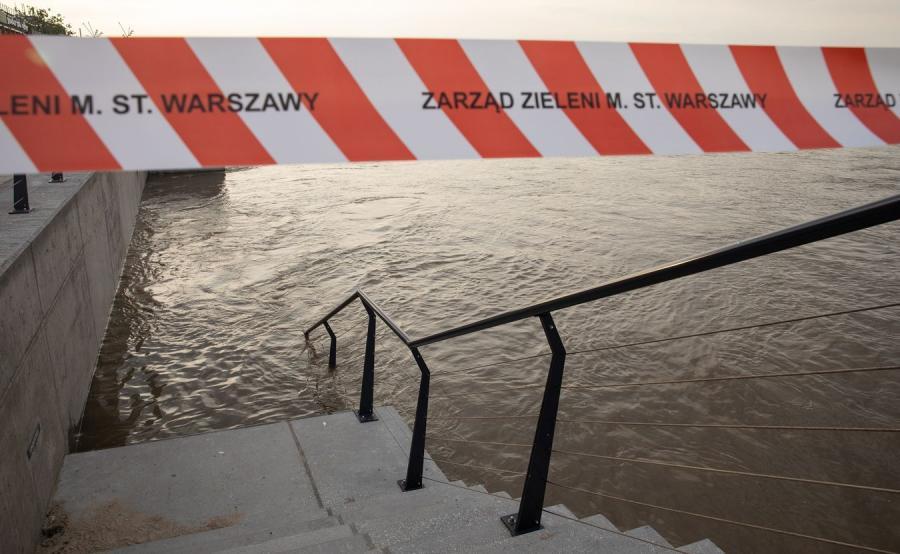 Warszawa, bulwary nad Wisłą