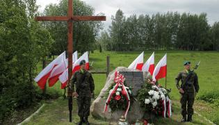 Uroczystość odsłonięcia Obelisku Żołnierzy Wyklętych