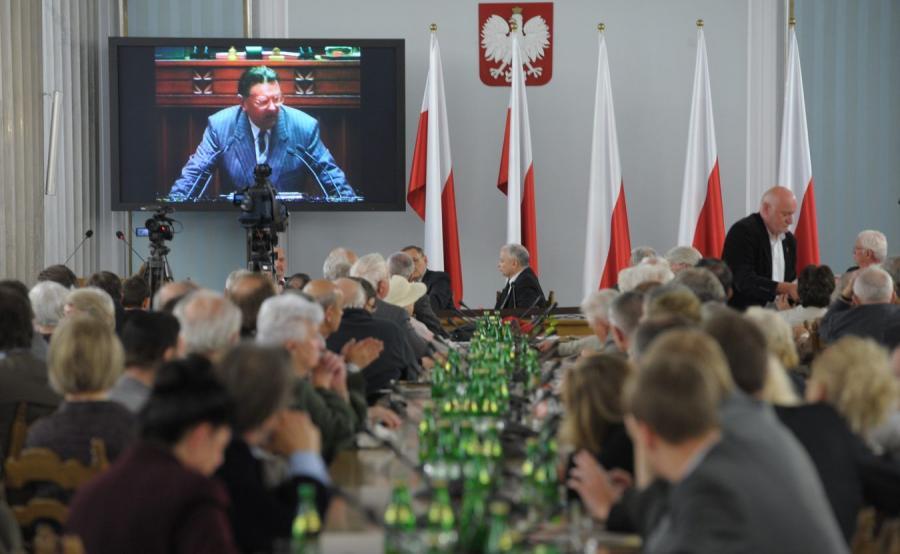 Spotkanie w Sejmie poświęcone rocznicy obalenia rządu Jana Olszewskiego