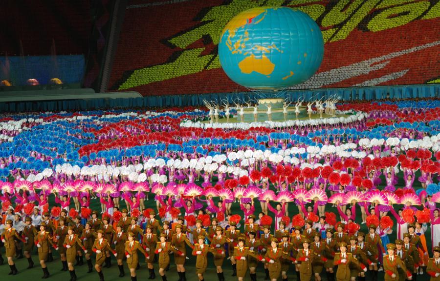 Pokazy w Korei Północnej