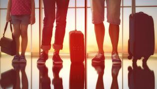 Rodzina i walizki