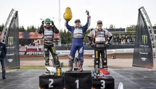 Emil Sayfutdinow, Martin Vaculik i Maciej Janowski