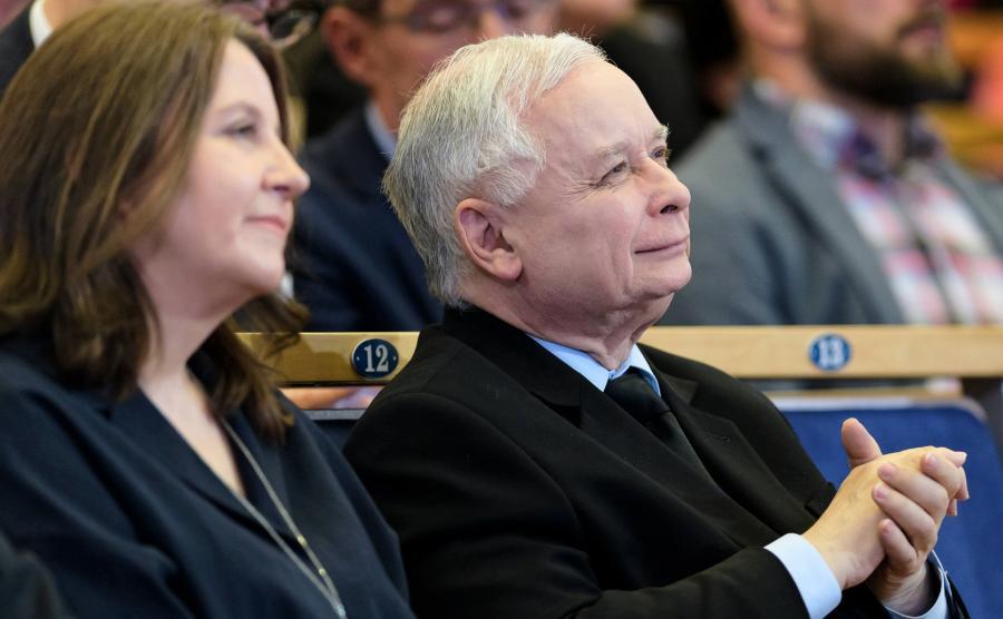 Joanna Lichocka i Jarosław Kaczyński