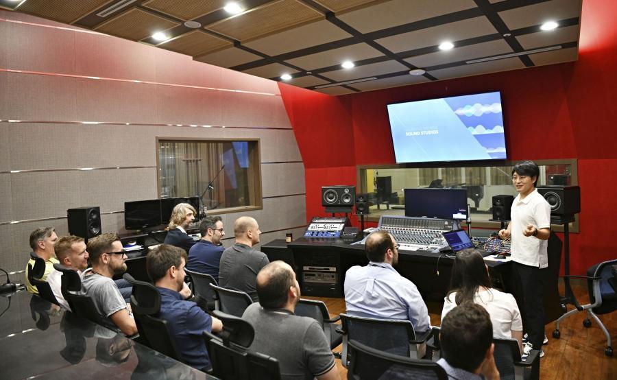 Wizyta w studiu nagraniowym Samsunga