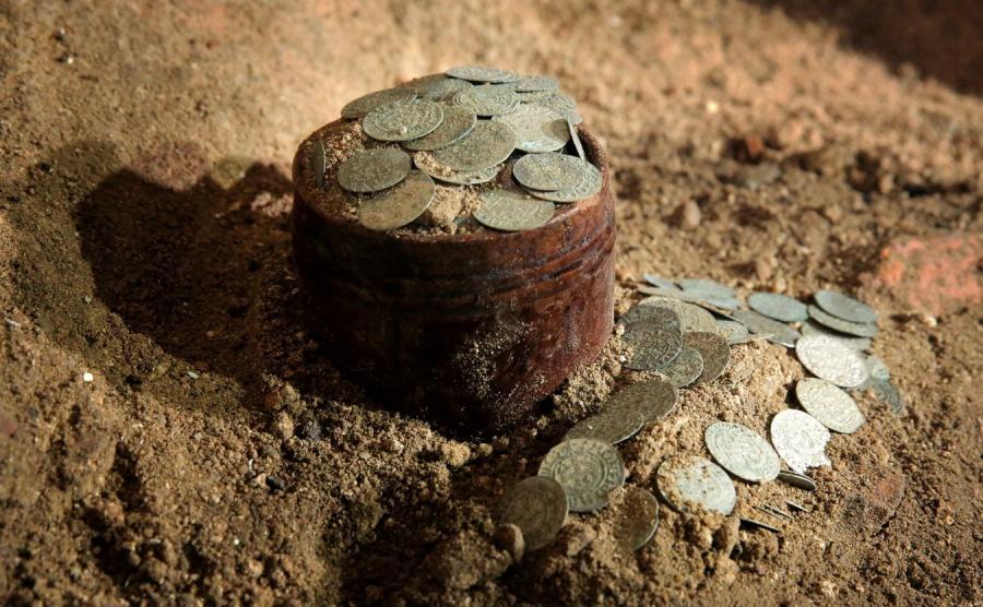 Skarb znaleziony w Barczewie
