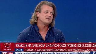 Jarosław Jakimowicz w TVP Info