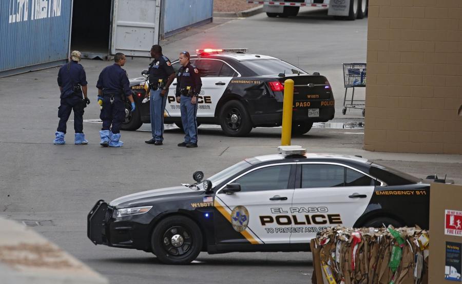 policja El paso