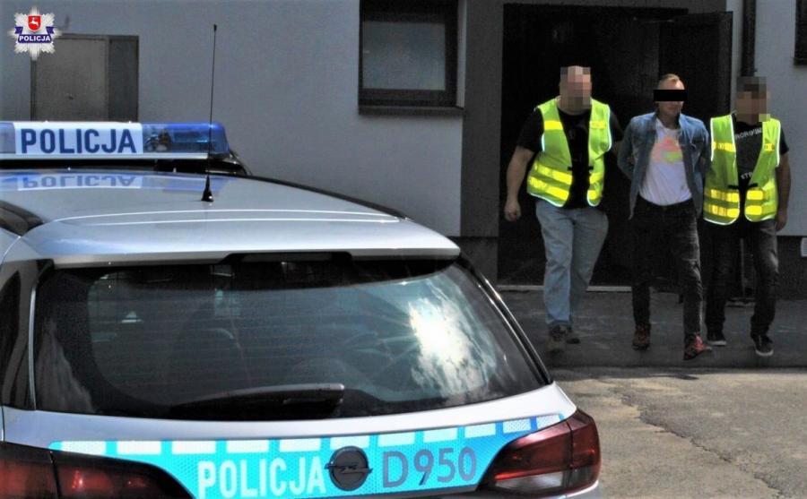 Mężczyzna potrącił policjanta