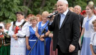 Jarosław Kaczyński w Stalowej Woli