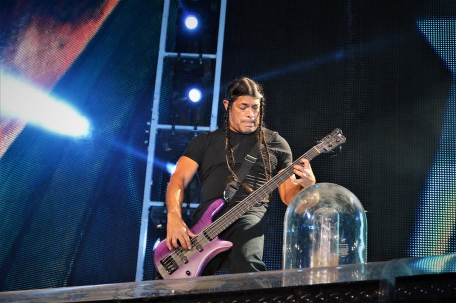 Robert Trujillo. Koncert zespołu Metallica 21.08.2019