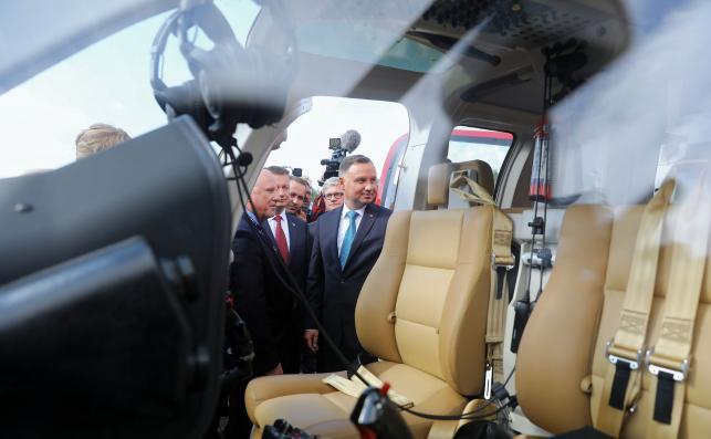Prezydent zwiedza targi w Kielcach