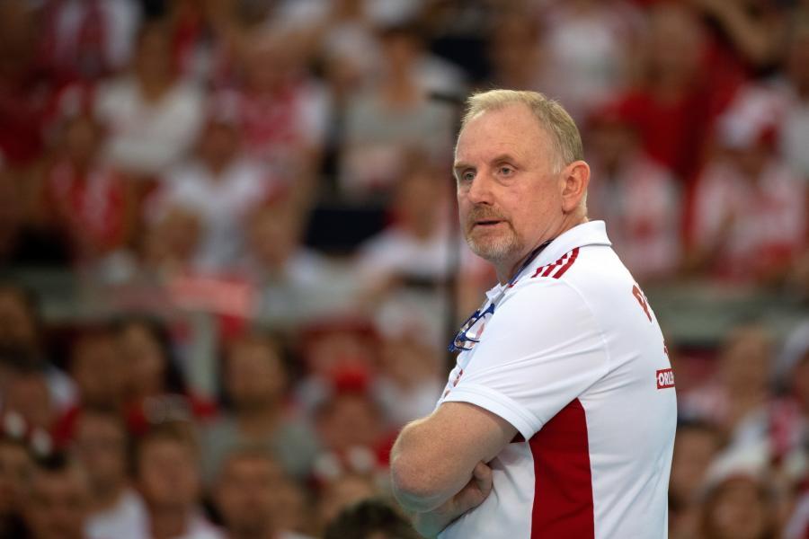 Trener Polek Jacek Nawrocki