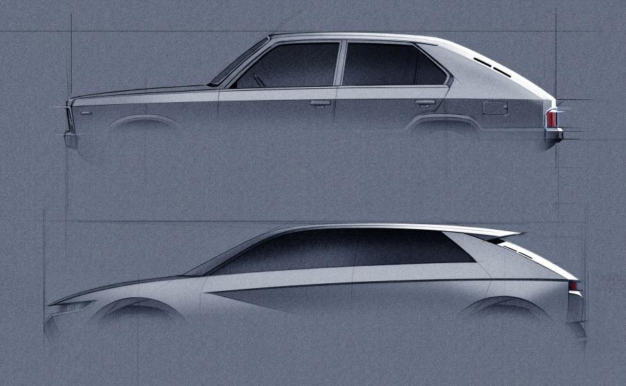 Hyundai Pony Coupe Concept i Hyundai 45