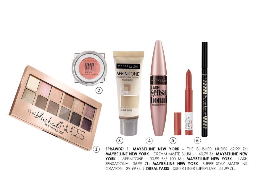 Kosmetyki do stworzenia modnego makijażu na jesień 2019
