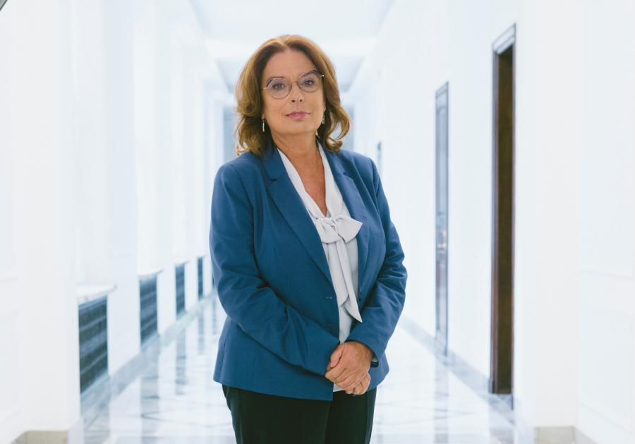 Małgorzata Kidawa-Błońska Fot. Maksymilian Rigamonti