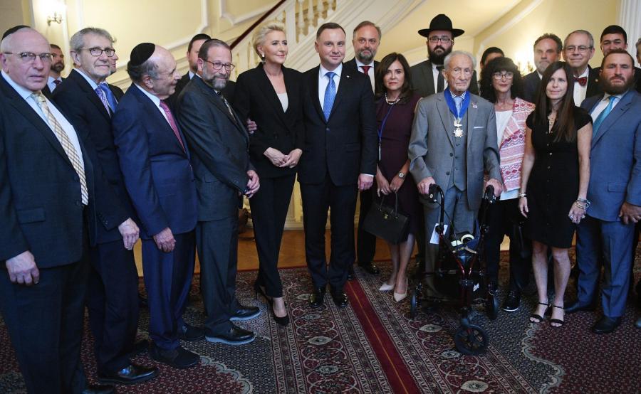 Para prezydencka i środowiska żydowskie