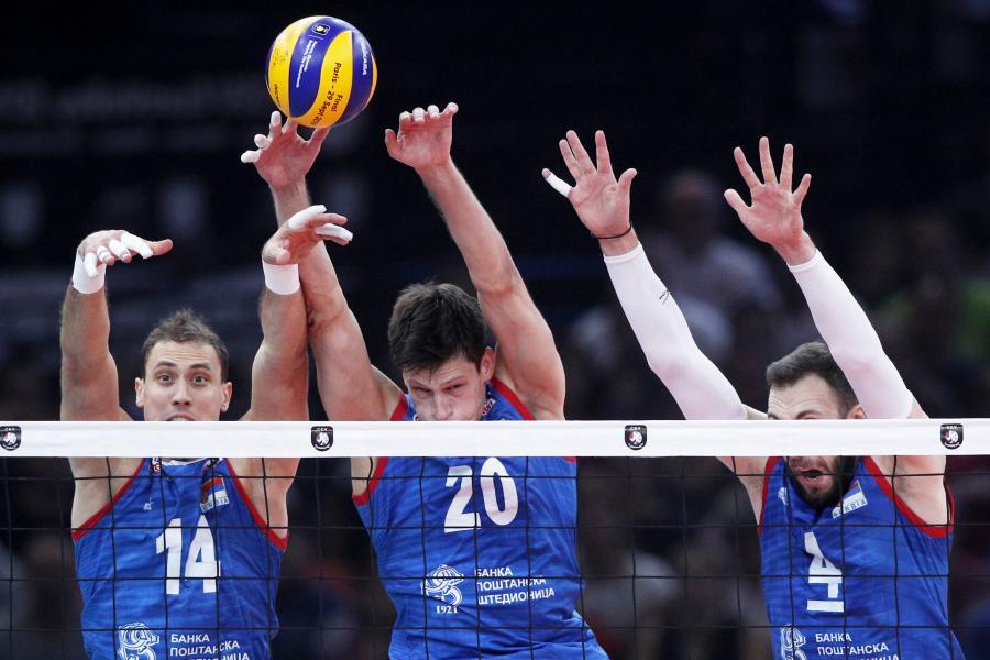 Aleksandar Atanasijevic, Srecko Lisinac i Nemanja Petric