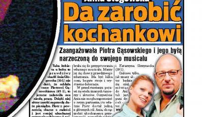 Gąsowski ma pracę dzięki Głogowskiej