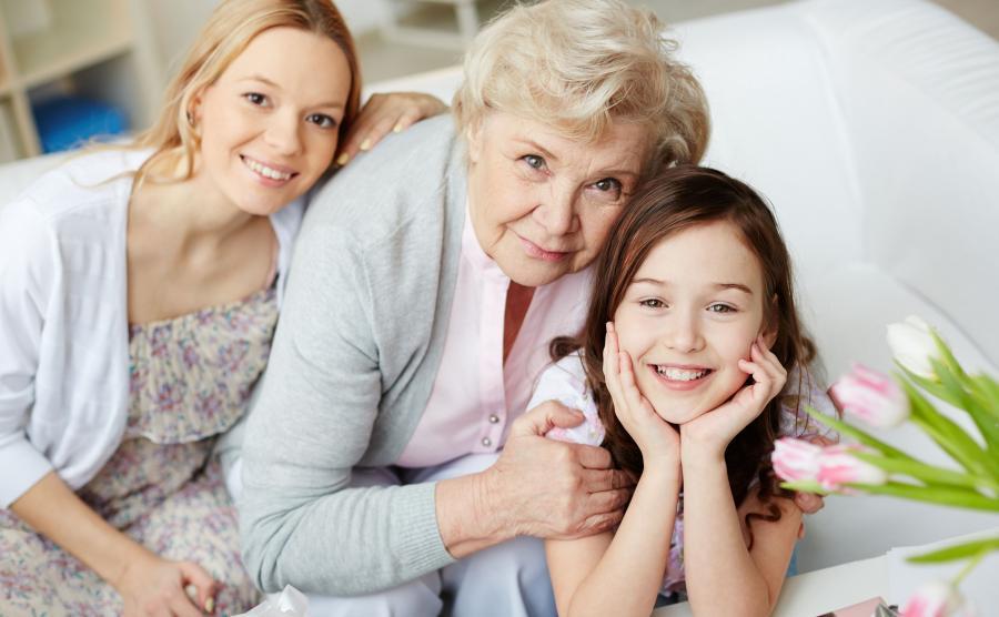 Babcia, mama, córka