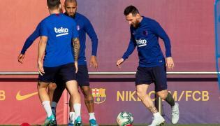 Leo Messi i Arturo Vidal