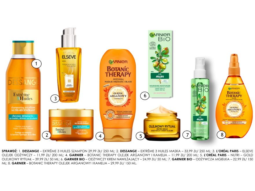 Kosmetyk z olejkiem arganowym