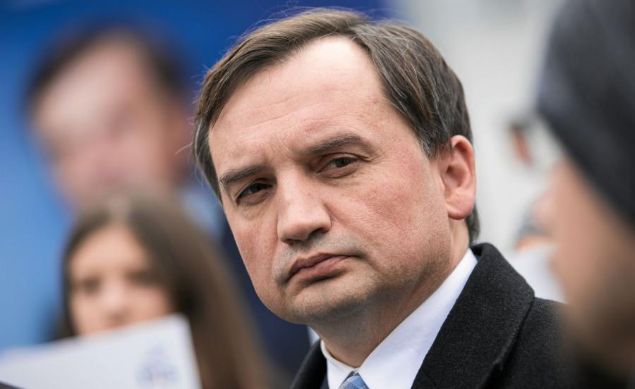 Minister Sprawiedliwosci i prokurator generalny Zbigniew Ziobro