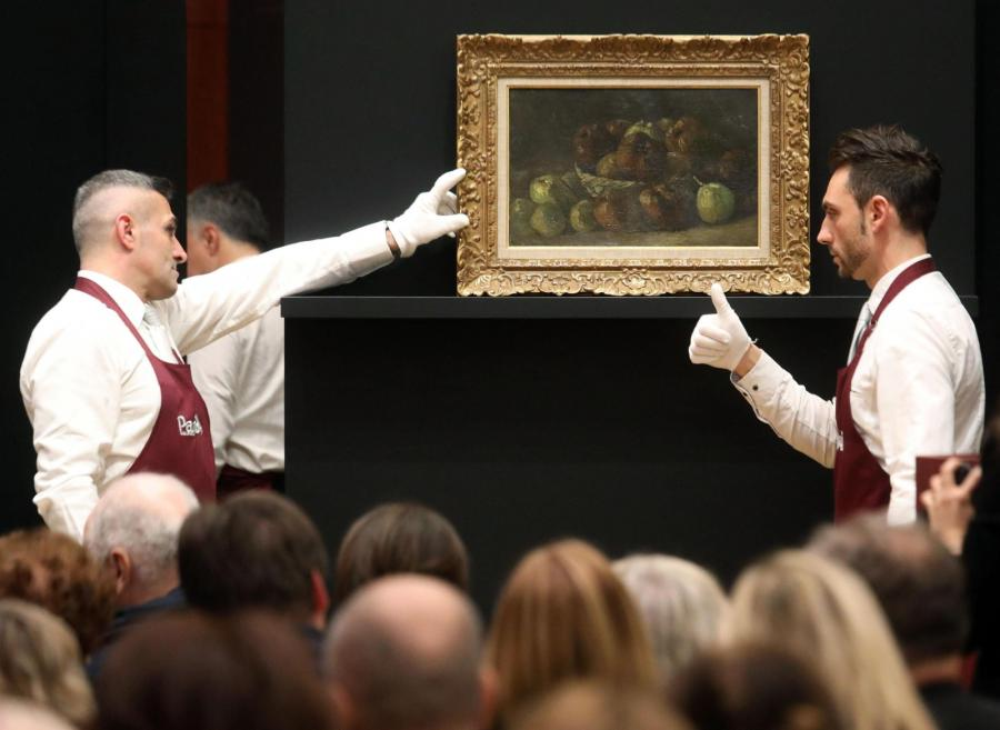 Obraz Van Gogha na aukcji we Włoszech