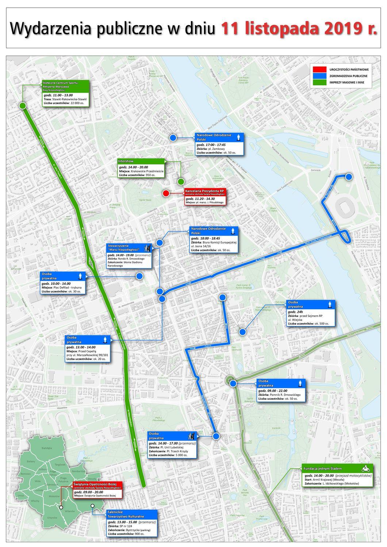 Mapa zgromadzeń