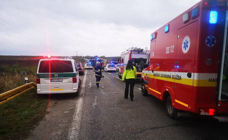 Wypadek na Słowacji