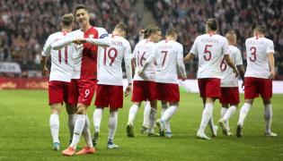 Polscy piłkarze po meczu ze Słowenią