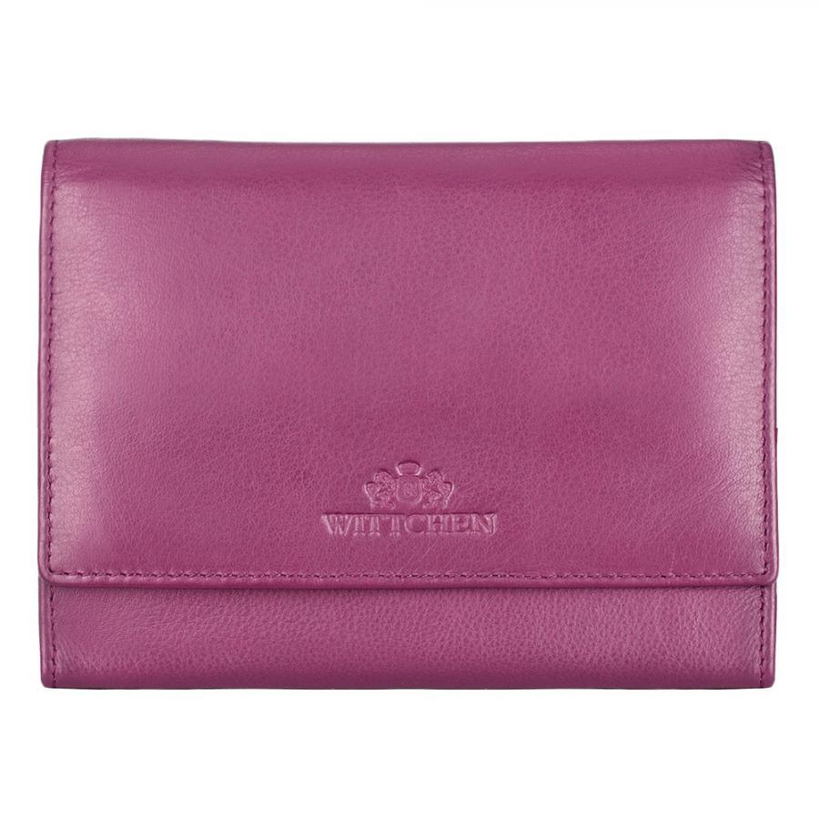 Skórzany portfel WITTCHEN z podszewką anty-RFID chroniącą karty płatnicze. https://www.wittchen.com/torebkadamska,p7132898#890571