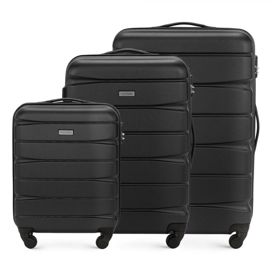 Zestaw walizek WITTCHEN z ABS-u – kup teraz, zapłać później. https://www.wittchen.com/zestaw-walizek,p7033633#883034