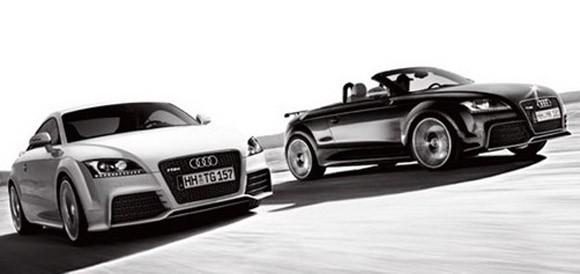 Audi TT RS ryknie mocą przeszło trzech setek koni w czasie marcowego salonu samochodowego w Genewie.