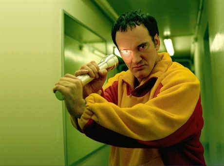 07 Nov 2003, Paris, France --- Cult American director, Quentin Tarantino is in Paris to promote his fourth film, \