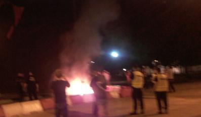 Niedaleko Pałacu spłonął Lenin