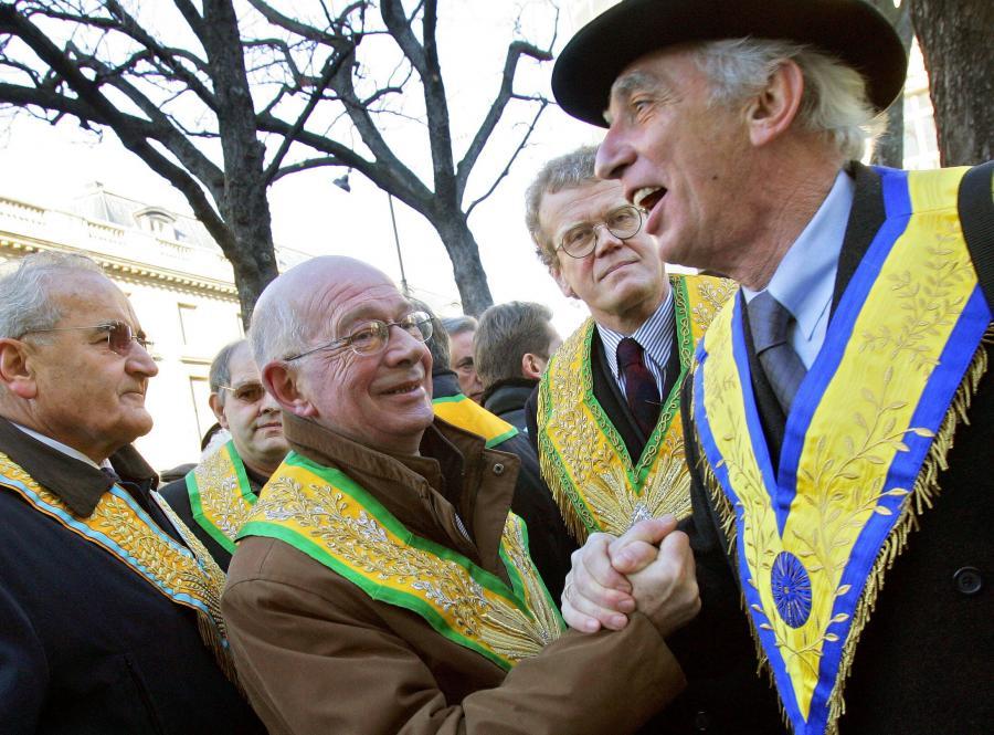 Przywódcy francuskiej masonerii.