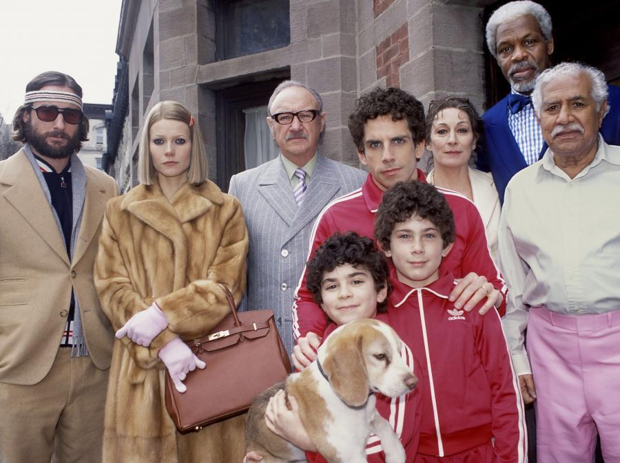 Filmowa rodzina Wesa Andersona, czyli \