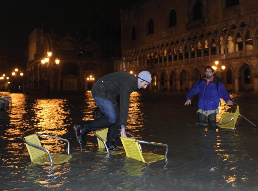 Wenecja pod wodą. Morze wdarło się do miasta