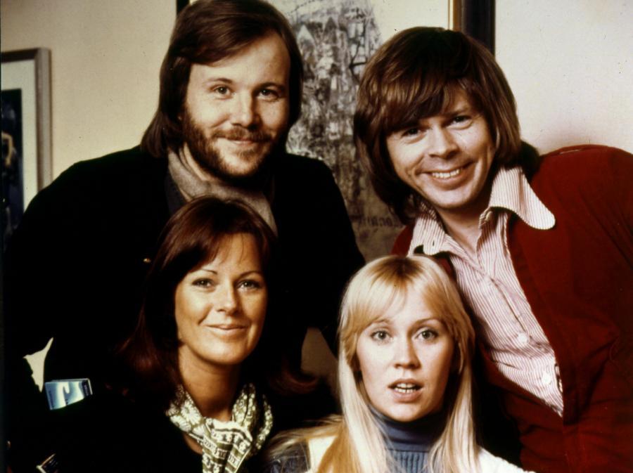 ABBA w 1974 roku