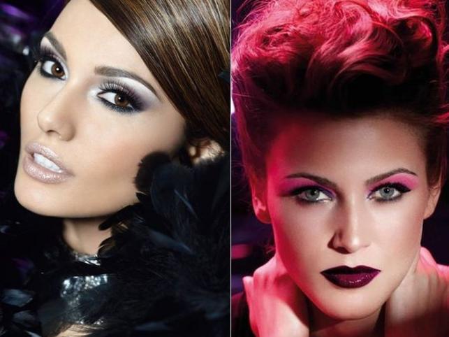Najmodniejsze makijaże sylwestrowe
