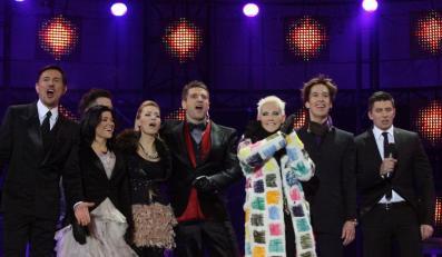 Na scenie pojawiły się gwiazdy telewizji Polsat, jednego z organizatorów imprezy
