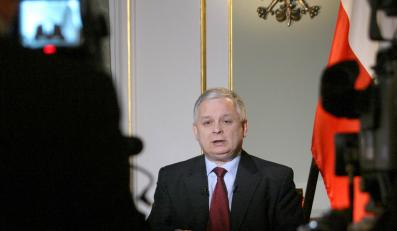 Prezydent Kaczyński: To był niełatwy rok
