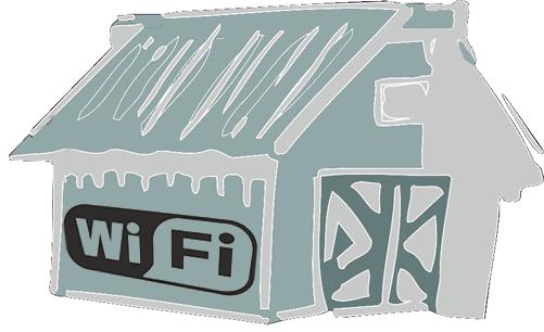 WiFi pod strzechy i leśne ostępy