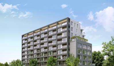 Francuski apartamentowiec stanie na Mokotowie