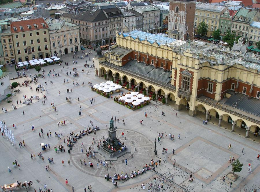 Kraków drugim europejskim miastem najlepiej ocenianym przez turystów